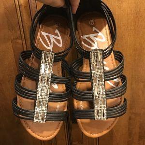 Ladies Bongo Sandals, Size 7